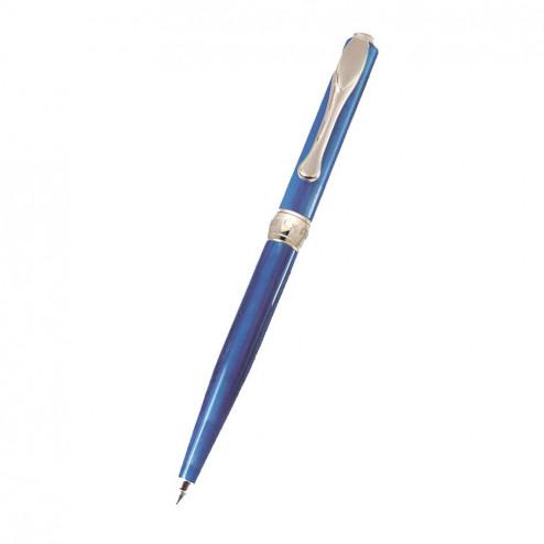 Penna Sfera Argento 925 Azzurro